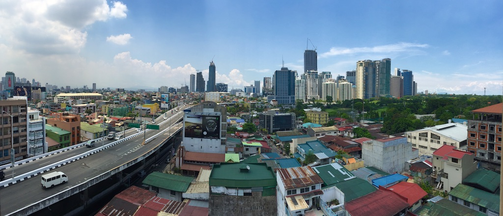 makati from rooftop